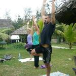 Yoga At la Plage with Stephanie