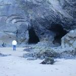  Caves on the beach