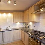 Kitchen, fully equipped to cook for Scotland!