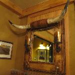  western decor in lobby