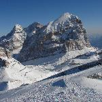 Beautiful Dolomity mountains