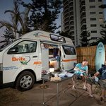  Main Beach Tourist Park perfect campervan accommodation