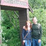  Hubby and me at entrance