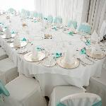 Medditeranean Suite - Wedding Breakfast - Picture courtesy of Duncan Cox - www.dcphotographic.co