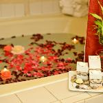 Enjoy romantic evening in our Whirlpool Suite