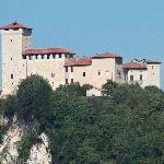 The Rocca di Angera is a great castle and fascinating museum