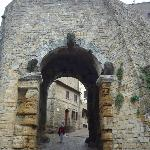 Very old entrance to Volterra, Italy.