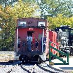 Southeastern Railway Museum Train in Duluth, GA.
