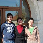 our hosts: Ismail, Serpil and Filiz