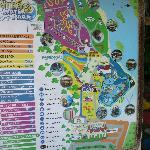 Bukit Gambang Water Park map