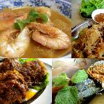 King Prawns in Pineapple Curry Dinner Set for 3 pax@RM75.00