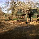 Safari Tents at Crocodile bridge Camp - Kruger