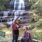 My boyfriend (now fiancé) asked me to marry him at Pearson's falls