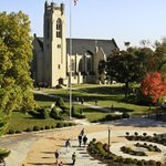 Williams Memorial Chapel is literally and figuratively at the heart of the campus.