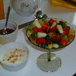 Linda's breakfast fruit salad