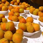 Local apricots at the Santa Fe Farmers' Market