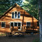 Maine Lakeside Cabinsの写真