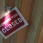 Pool was closed