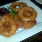 Onion Rings - The size of doughnuts!