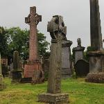 Monuments in the Church's Burial Ground