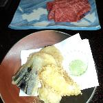  Kobe beef and tempura