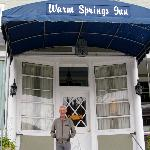 Entrance to the Warm Springs Inn