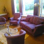 adjoining conference / sitting room
