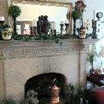  Hanover House, Niagara Falls;  living room fire place