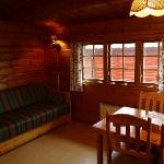 Inside our cabin - Satervallen