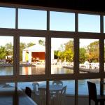 Bistro and pool