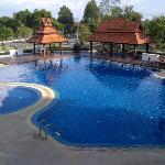 The amazing pool of the Oasis Baan
