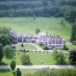 The Inn at Woodstock Hill Aerial View