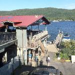  Boardwalk restaurant on Lake George