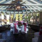 Ceremony in conservatory