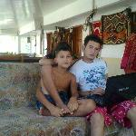 Garson Nazif and little brother Ebrahim