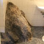 Gigantic bathroom rock....for some reason