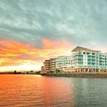 Ramada Ballina at sunset
