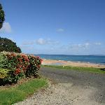 View of Doubtless bay from motel