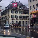 Hotel Reiser in the rain