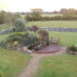 View of the back garden