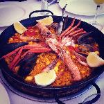 Lobsterpaella