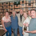  Inside the breakfast room/wine cellar.