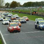 Brands Hatch with 29 Fiesta ST race cars