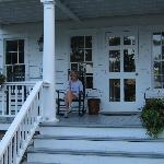 rocking on the porch