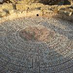  beautiful mosaic design in an archeological site