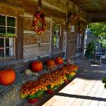 Andy Lynch Cabin in the fall