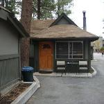 Outside view of Cabin #3