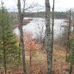 Hovey Lake from motel room balcony
