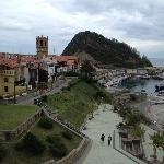 Getaria is a cute, atmospheric, seaside town