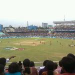 IPL match at eden gardens...